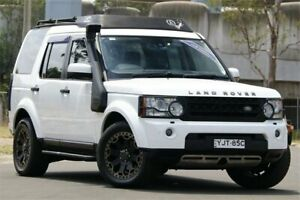 2010 Land Rover Discovery 4 MY10 2.7 TDV6 White 6 Speed Automatic Wagon