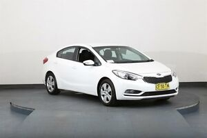 2015 Kia Cerato YD MY15 S White 6 Speed Automatic Sedan Smithfield Parramatta Area Preview