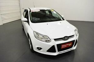 2014 Ford Focus LW MK2 Upgrade Trend White 6 Speed Automatic Hatchback Moorabbin Kingston Area Preview