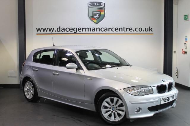 2007 56 BMW 1 SERIES 2.0 118D SE 5DR 121 BHP DIESEL