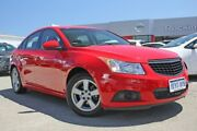 2013 Holden Cruze JH Series II MY13 CD Red 6 Speed Sports Automatic Sedan Rockingham Rockingham Area Preview
