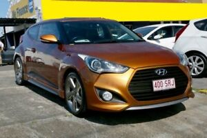 2012 Hyundai Veloster FS2 SR Coupe Turbo Vitamin C 6 Speed Sports Automatic Hatchback Underwood Logan Area Preview