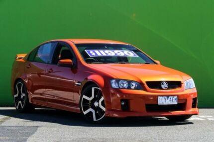 2008 Holden Commodore VE SV6 Orange 5 Speed Sports Automatic Sedan Ringwood East Maroondah Area Preview