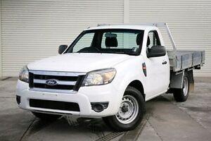 2009 Ford Ranger PK XL White 5 Speed Manual Cab Chassis Seaford Frankston Area Preview