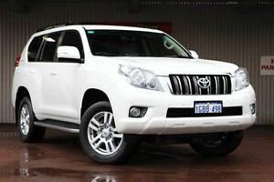 2013 Toyota Landcruiser Prado KDJ150R MY14 VX White 5 Speed Sports Automatic Wagon Northbridge Perth City Area Preview