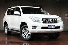 2013 Toyota Landcruiser Prado KDJ150R MY14 VX White 5 Speed Sports Automatic Wagon Northbridge Perth City Preview