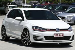 2015 Volkswagen Golf VII MY15 GTI DSG Performance White 6 Speed Sports Automatic Dual Clutch Toowong Brisbane North West Preview