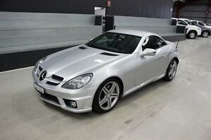 2010 Mercedes-Benz SLK300 R171 MY10 7G-Tronic Silver 7 Speed Sports Automatic Roadster Maryville Newcastle Area Preview