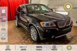 2013 BMW X3 xDrive35i SUNROOF! NAVI! RED LEATHER!