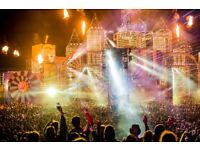 Selling a chapter 10 boomtown festival ticket