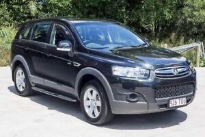 2013 Holden Captiva CG MY13 7 SX Carbon Flash Black 6 Speed Sports Automatic Wagon