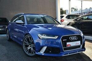 2016 Audi RS6 4G MY16 performance Avant Tiptronic quattro Blue 8 Speed Sports Automatic Wagon Burwood Whitehorse Area Preview