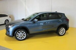 2014 Mazda CX-5 KE1032 Grand Touring SKYACTIV-Drive AWD Blue 6 Speed Sports Automatic Wagon