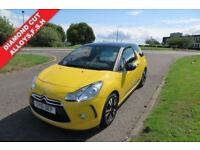 CITROEN DS3 1.6 E-HDI DSTYLE,2011,Diamond Cut Alloys,Air Con,Cruise Control,F.S.H,Very Clean Car