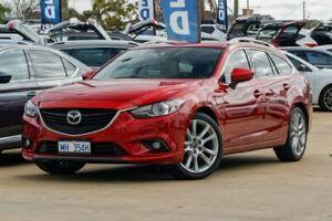 2013 Mazda 6 GJ1031 Atenza SKYACTIV-Drive Red 6 Speed Sports Automatic Wagon