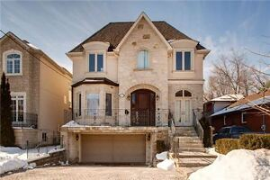 Luxury house for lease in the best place of C14 Willowdale East.