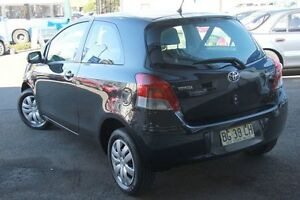 2008 Toyota Yaris NCP90R 08 Upgrade YR Black 4 Speed Automatic Hatchback Wolli Creek Rockdale Area Preview
