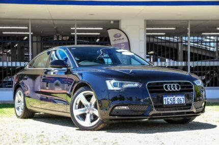 2012 Audi A5 8T MY13 Sportback Multitronic Black 8 Speed Constant Variable Hatchback Victoria Park Victoria Park Area Preview