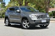 2012 Jeep Grand Cherokee WK MY2012 Overland Grey 6 Speed Sports Automatic Wagon Claremont Nedlands Area Preview
