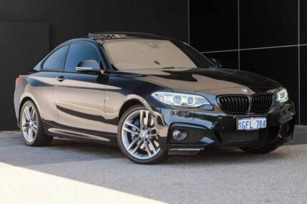 2017 BMW 230i F22 M Sport Black 8 Speed Sports Automatic Coupe