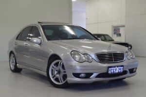 2003 Mercedes-Benz C32 W203 AMG Silver 5 Speed Sports Automatic Sedan Myaree Melville Area Preview