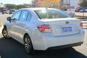2016 Subaru Impreza G4 MY16 2.0I PREMIUM Crystal White 6 Speed Constant Variable Sedan Willagee Melville Area Preview