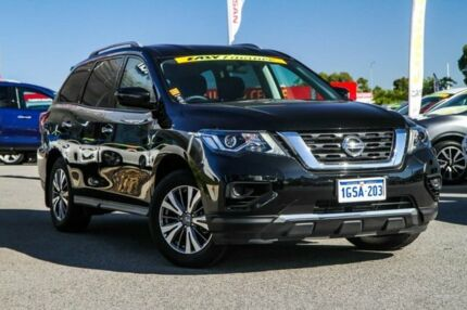 2018 Nissan Pathfinder R52 Series II MY17 ST X-tronic 2WD Diamond Black 1 Speed Constant Variable Cannington Canning Area Preview