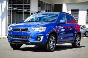 2015 Mitsubishi ASX XB MY15.5 LS 2WD Blue 6 Speed Constant Variable Wagon Garbutt Townsville City Preview