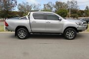 2016 Toyota Hilux GUN126R SR5 Double Cab Silver Sky 6 Speed Sports Automatic Utility Clarkson Wanneroo Area Preview
