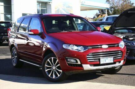 2015 Ford Territory SZ MkII Titanium Seq Sport Shift Red 6 Speed Sports Automatic Wagon Seaford Frankston Area Preview