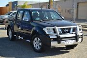 2007 Nissan Navara D40 ST-X Black 5 Speed Automatic Utility Pearsall Wanneroo Area Preview