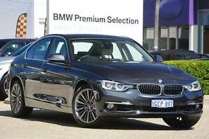 2016 BMW 318I F30 LCI Luxury Line Grey 8 Speed Sports Automatic Sedan Victoria Park Victoria Park Area Preview