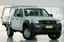 2011 Mazda BT-50 DX White 5 Speed Automatic Utility Waitara Hornsby Area Preview