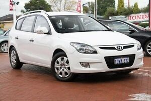 2012 Hyundai i30 FD MY11 SX cw Wagon White 4 Speed Automatic Wagon Myaree Melville Area Preview
