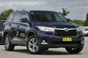 2015 Toyota Kluger GSU55R GXL (4x4) Blue 6 Speed Automatic Wagon Greenacre Bankstown Area Preview