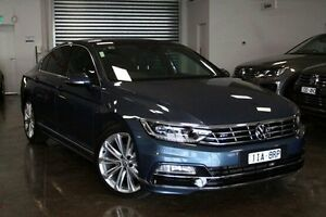2016 Volkswagen Passat 3C (B8) MY16 140TDI DSG Highline Blue 6 Speed Sports Automatic Dual Clutch Frankston Frankston Area Preview