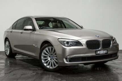 2012 BMW 730D F01 MY0911 Steptronic Beige 6 Speed Sports Automatic Sedan