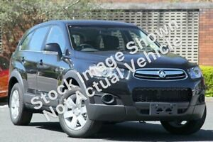 2013 Holden Captiva CG MY12 7 SX (FWD) Black 6 Speed Automatic Wagon North Toowoomba Toowoomba City Preview