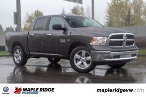 2018 Ram 1500 SLT NO ACCIDENTS, SUPER LOW KM, ALMOST BRAND NEW!