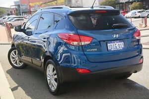 2010 Hyundai ix35 LM Highlander AWD Blue 6 Speed Sports Automatic Wagon Willagee Melville Area Preview