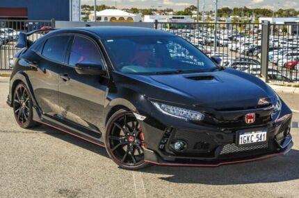 2017 Honda Civic MY17 Type R Black 6 Speed Manual Hatchback Wangara Wanneroo Area Preview