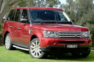 2008 Land Rover Range Rover Sport L320 08MY TDV8 Rimini Red 6 Speed Sports Automatic Wagon St James Victoria Park Area Preview