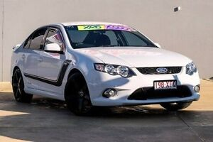 2009 Ford Falcon FG XR6 White 6 Speed Sports Automatic Sedan Yeerongpilly Brisbane South West Preview