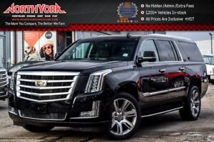 2017 Cadillac Escalade ESV Luxury 4x4|Rr DVD's|Heated Seats|BOSE