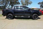 2013 Ford Ranger PX Wildtrak Double Cab Black 6 Speed Sports Automatic Utility Wangara Wanneroo Area Preview
