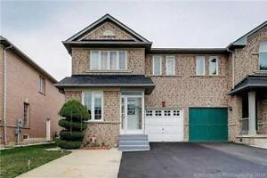 Fully Upgraded, Semi Detached In The Heart Of Brampton! Wow!