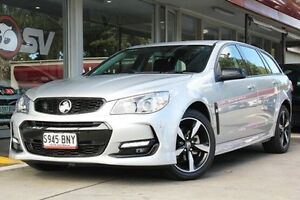 2016 Holden Commodore VF II MY16 SV6 Sportwagon Black Silver 6 Speed Sports Automatic Wagon Somerton Park Holdfast Bay Preview