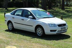 2006 Ford Focus LS LX White 4 Speed Automatic Sedan Port Macquarie Port Macquarie City Preview