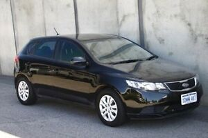 2012 Kia Cerato TD MY12 S Black 6 Speed Sports Automatic Hatchback Mount Hawthorn Vincent Area Preview