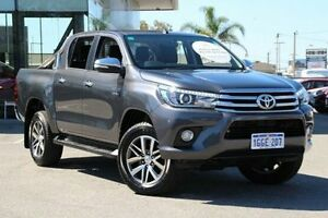 2016 Toyota Hilux Grey Sports Automatic Utility Welshpool Canning Area Preview